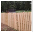 Shadow Box Wood Privacy Fence